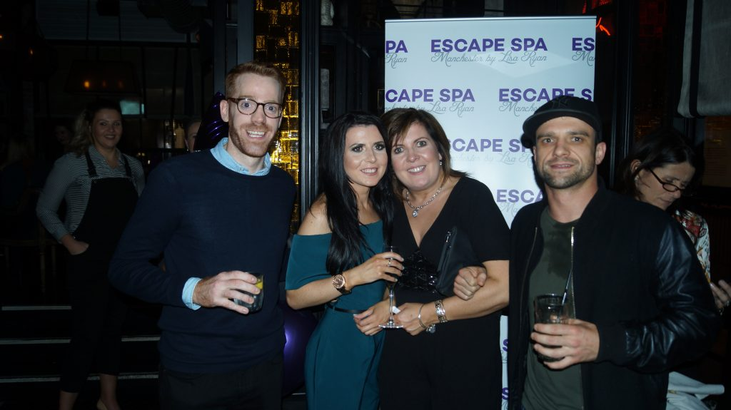 Launch Night Photo, Escape Spa Manchester by Lisa Ryan