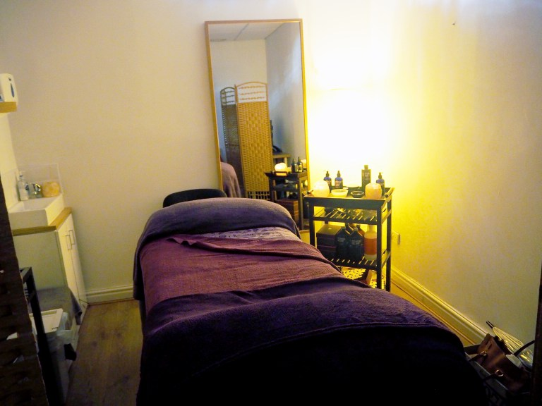 Treatment Room at Escape Spa Manchester